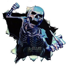 Car Vinyl Skull Skeleton Decal Stickers For Truck Window Wrap Decals Motorcycle