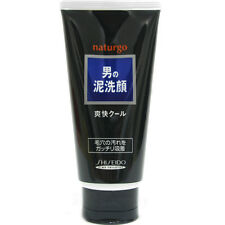 Shiseido Japan Naturgo Black Clay Wash Cleansing Foam 130g for Men