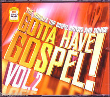 Gotta Have Gospel Vol 2 2CD DVD Greatest Christian Rock TONEX KURT CARR Rare