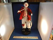 "New Dynasty Moving Clem The Clown Conductor ""Are You Sleeping?"" Music Box"