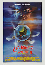 Horror: A Nightmare on Elm Street 5 * Dream Child * Movie Poster 1989