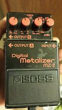 Boss MZ-2 Digital Metalizer Distortion Made in Japan project junk for parts.