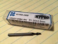 2.50MM 2 FLUTE BALL NOSE CARBIDE END MILL OSG # HP421-0984-BN