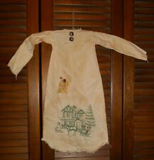 Primitive Grungy Decor HOME FOR CHRISTMAS NIGHTSHIRT,Winter,Christmas,Country