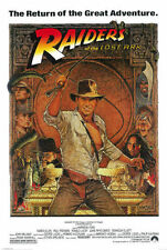 Indiana Jones Raiders Lost Art Movie Replica Poster 24 x 36 in