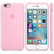 "Funda original Apple de silicona Iphone 6S 4.7"" de Alta calidad - Rosa"