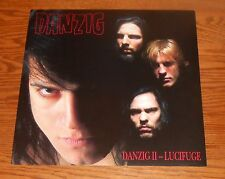 Danzig II – Lucifuge Poster 2-Sided Flat Square 1990 Promo 12x12 The Misfits RAR