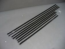 60 61 Ford Galaxie Starliner windowfelt kit fuzzies 8 piece weatherstrip
