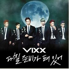 K-POP VIXX 3rd Single Album [On and On] CD + Booklet Sealed Music CD