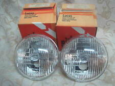 "2 NOS LUCAS 5.3/4"" 12V RHD SEALED BEAM FORD CAPRI Mk1 CORTINA Mk3 ESCORT RS2000"