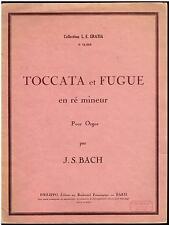 TOCCATA et FUGUE en ré mineur pour Orgue Orgel Organ - par J.S. BACH PHILIPPO