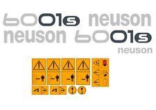 NEUSON 6001 ADESIVI DECALCOMANIE DUMPER