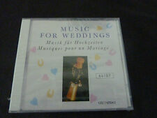MUSIC FOR WEDDINGS ULTRA RARE SEALED CD! BRIDAL AVE MARIA BACH WAGNER LISZT