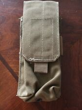 Allied Industries FSBE Single (1x2) M4 Mag Pouch USMC Coyote Brown 7P200