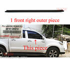 FRONT RIGHT TOYOTA HILUX KUN GGN TGN 05-15 DOOR BELT WEATHER STRIP RUBBER SEAL