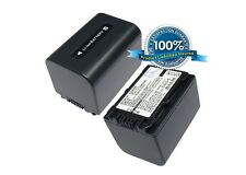 7.4V battery for Sony HDR-CX550VE, E HDR-CX350VET, HDR-CX550V, HDR-CX370, HDR-HC