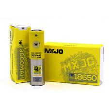 2 Of Yellow MXJO 35A 3000mAh 18650 IMR 3.7V Battery High Drain Li-Mn Battery