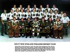 1977 NEW ENGLAND WHALERS TEAM PHOTO 8X10