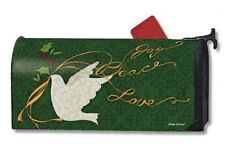 Magnet Works Peace Dove Joy Love Original Magnetic Mailbox Wrap Cover