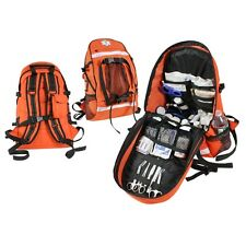 Orange EMS Trauma Backpack, Medical Bag