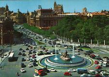 ANTIGUA POSTAL MADRID . CALLE ALCALA Y CIBELES  . MIRA MAS EN MI TIENDA CC1565