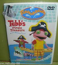 NICK JR. Rubbadubbers TUBB'S PIRATE TREASURE & More Swimmin' Stories NEW DVD