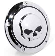 Derby cover SKULL harley davidson frizione h-d SOFTAIL SLIM DELUXE BREACKOUT