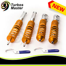 Coilovers Kit for VW MK2 MK3 83-98 VW Jetta Mk2 84-92 Ajustable Lowering Shocks