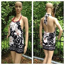 WHITE HOUSE BLACK MARKET Signature Knits Womens Sz Small Halter Top Shirt Blouse