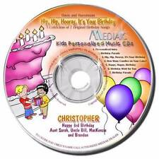 Personalized It's Your Birthday Music Children's CD Gift For Child
