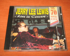 "Jerry Lee Lewis CD "" LIVE IN CONCERT "" Double Play"