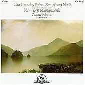 John Knowles Paine Symphony No. 2 CD NEW WORLD New York PO Zubin Mehta