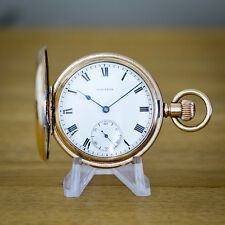 Waltham Gold Filled Full Hunter Pocket Watch