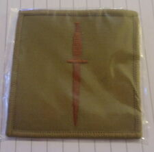 RM - ROYAL MARINES COMMANDO DAGGER FABRIC BADGE - BRAND NEW - BRITISH ARMY ISSUE