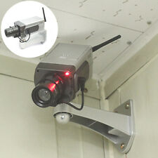 Dummy Camera Motion Detection Sensor Motorized Pan Movement Blinking LED MW