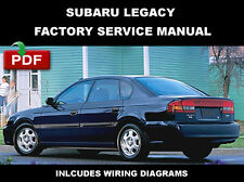 2000 2001 2002 2003 2004 SUBARU LEGACY FACTORY SERVICE REPAIR WORKSHOP MANUAL