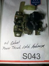 2004 Mitsubishi Galant Power Trunk Latch Mechanism TESTED OEM #S043