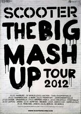 Scooter - 2012-tourplakat-The Big mash up-Tour póster