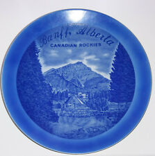 Collectors Plate Banff, Alberta, Canadian Rockies by Sigal Bros Ltd, Canada