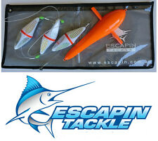 "Bird Teaser Pack - 12"" Sea Bird. Sailfish, Tuna, Marlin Teaser"