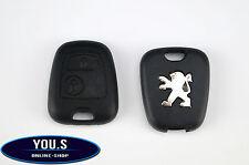 Peugeot Partner 1996 - 2009 2 Tasten Funk Fernbedienung Schlüssel Gehäuse Hülle
