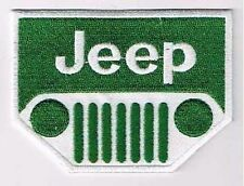 JEEP EMBROIDERED IRON ON PATCH 4x4 wrangler sierra cherokee liberty willys