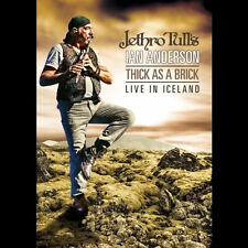 JETHRO TULL'S IAN ANDERSON THICK AS A BRICK LIVE IN ICELAND DVD NUOVO SIGILLATO
