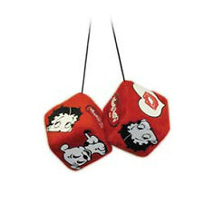 Betty Boop Red Fuzzy Dice Car Toys New