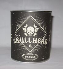 Fully Visual SKULLHEAD Huck Gee LE 100 Silver Plated Metal Limited Skull SEALED