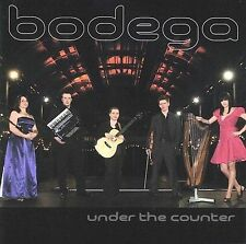 Bodega Under The Counter CD Brand New Gift Quality FREE SHIPPING TRACK CONT US