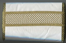 "2"" METALLIC GOLD BRAID TRIM 8.20 METERS CRAFT HOME DECOR SEWING FABRIC COSTUMES"