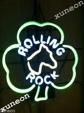 Rare New Rolling Rock Tavern Real Home Beer Bar Pub Neon Light Sign Fast Shiping