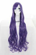 Y-20-26 lila purple 100cm Cosplay Wig Perücke Perruque Anime Curl Locken