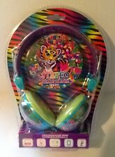 NEW Lisa Frank Playful Pals Forrest Stereo Headphones MP3 MAC/PC Mobile Gaming